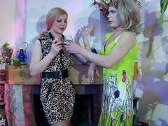 Ninette&Silvester strapon sissysex video